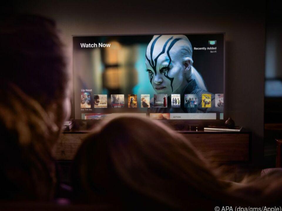 Apple TV 4K bietet Zugriff auf Filme und Serien in UHD-Auflösung und HDR