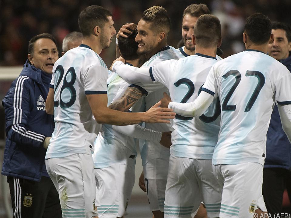 Argentinien gewann in Tanger 1:0