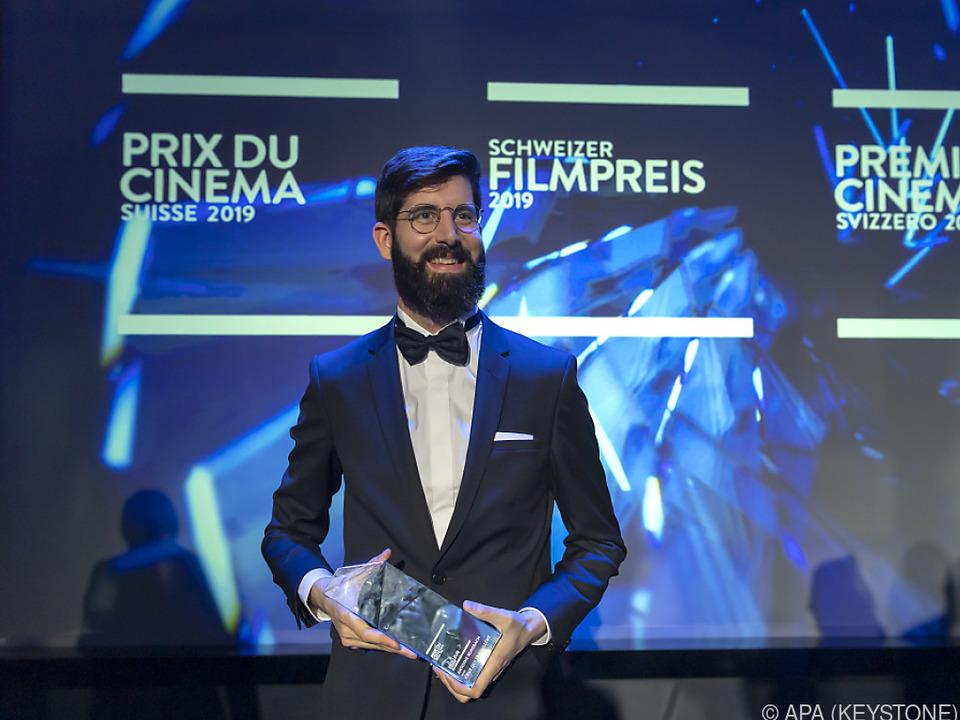 Auszeichnung für Antoine Russbach