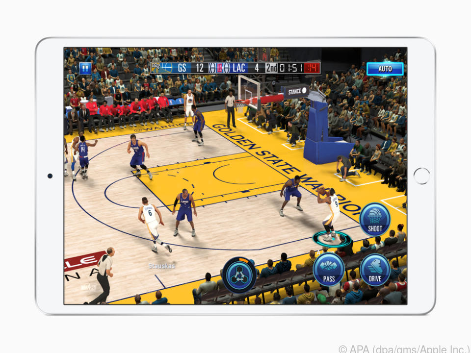 Das iPad mini hat Leistungsreserven auch für anspruchsvollere Spiele