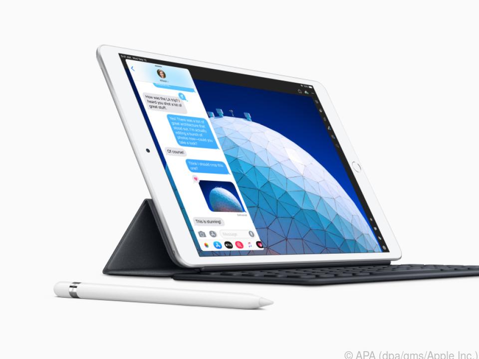 Das neue iPad mini gibt es gegen Aufpreis auch mit Tastatur und Eingabestift