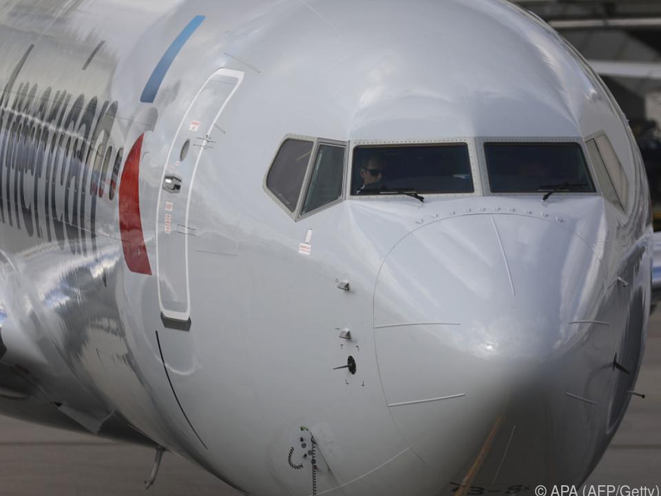 Boeing 737 Max 8 musste am Boden bleiben