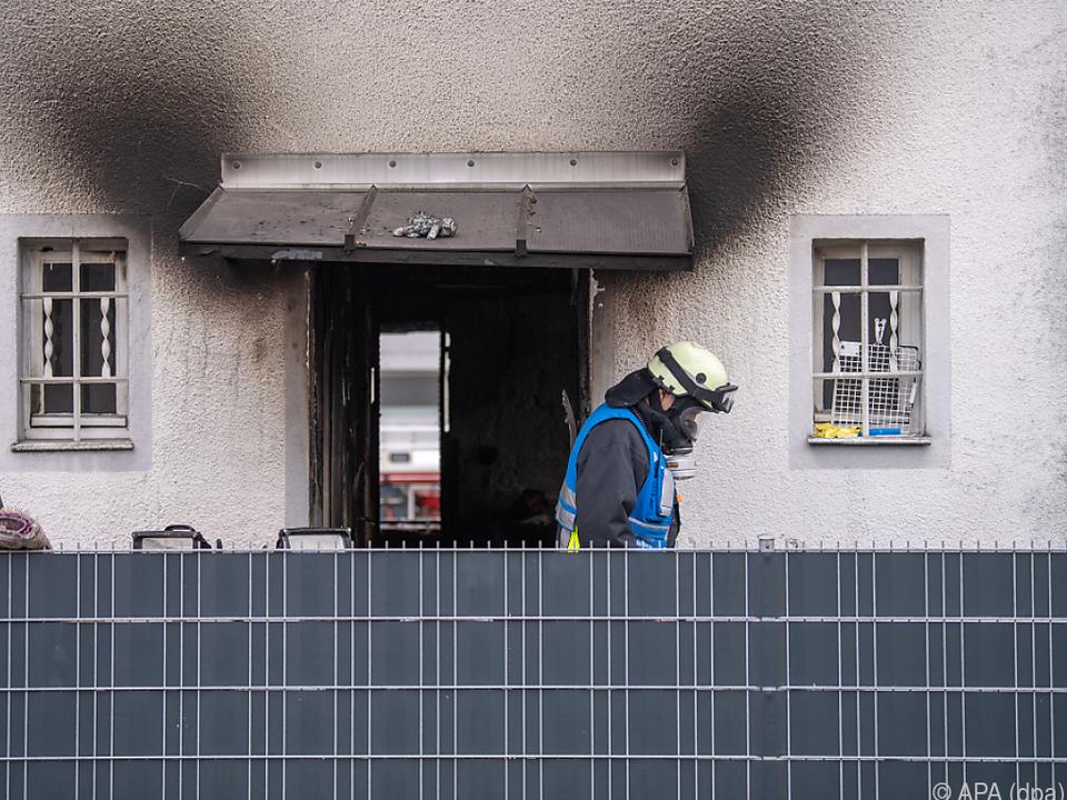 Brand mit fünf Toten in Nürnberg