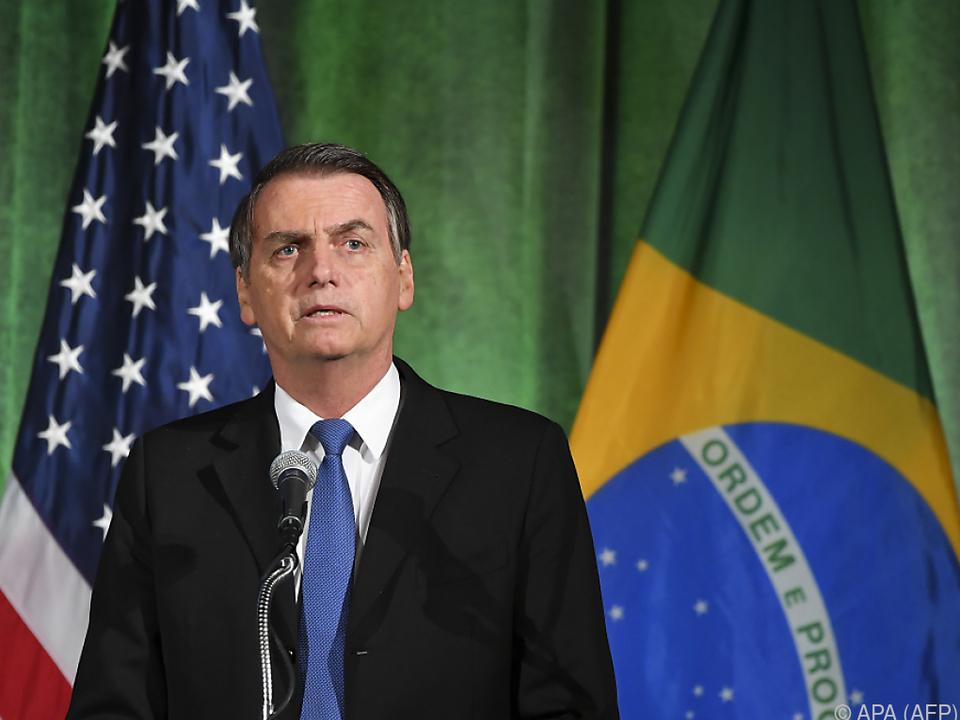 Brasiliens Präsident Bolsonaro ist zu Besuch in Washington