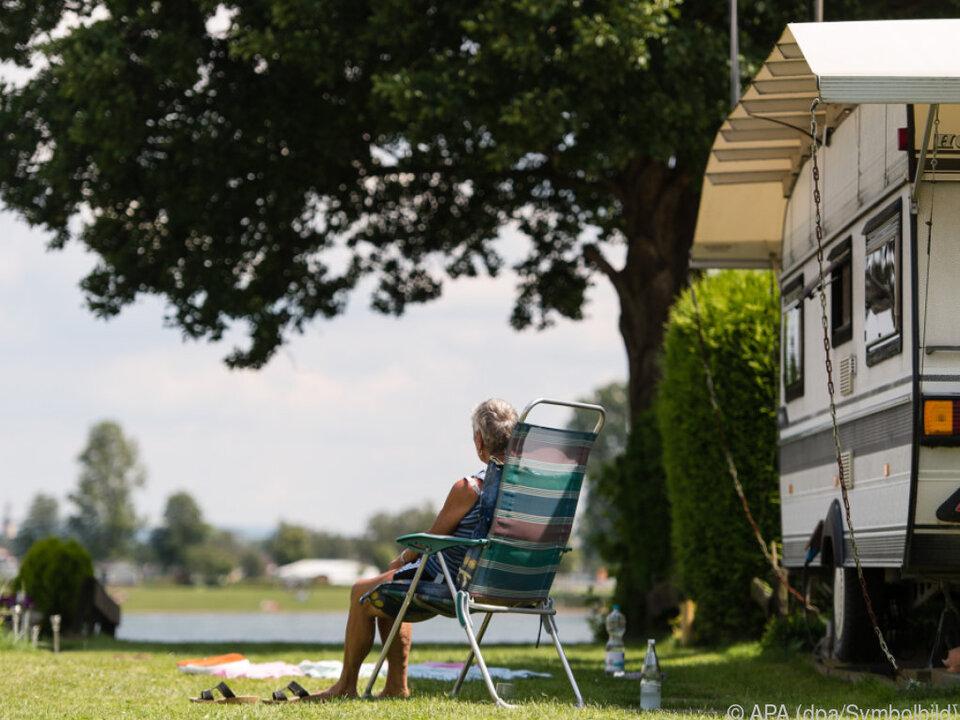 Campingplätze profitierten vom guten Wetter