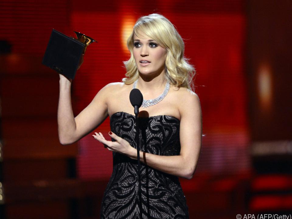 Carrie Underwood besitzt bereits sieben Grammys