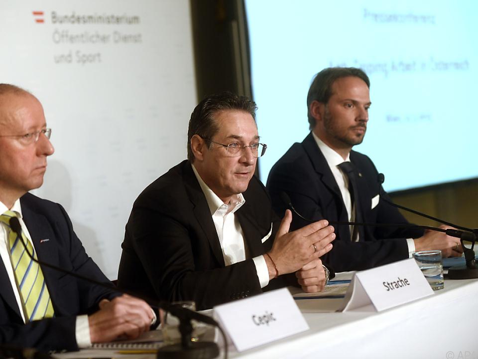 Cepic, Strache und Csefan hoben gelungene Kooperation hervor