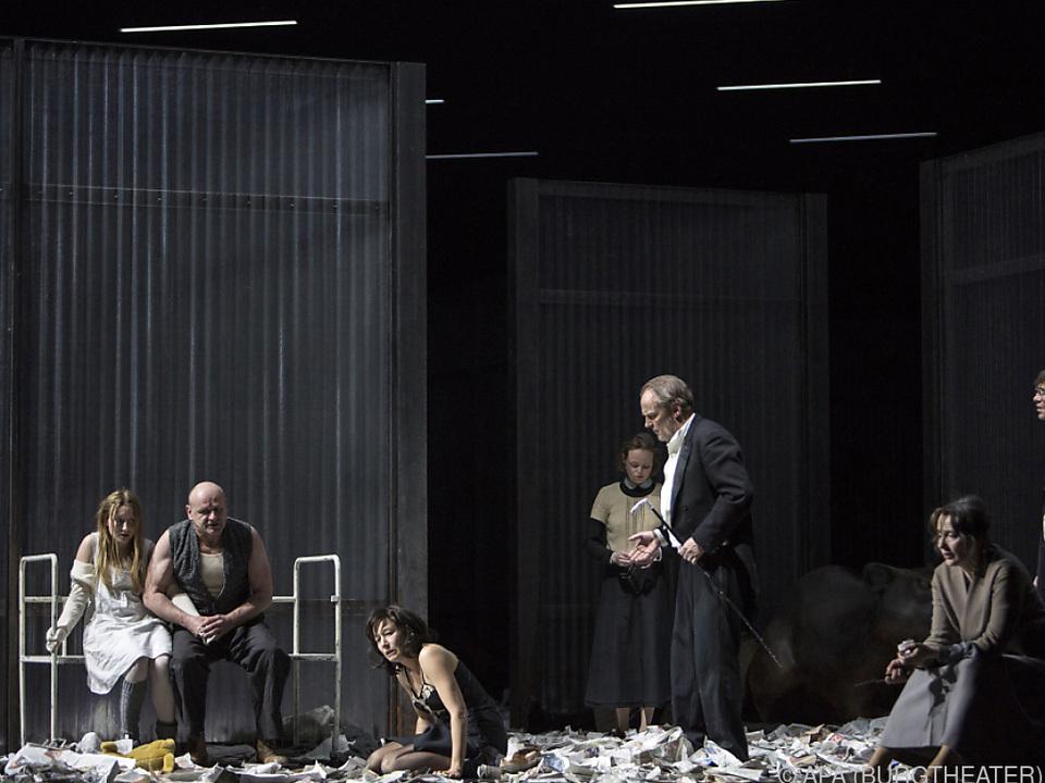 Darstellungskunst vom Feinsten im Burgtheater