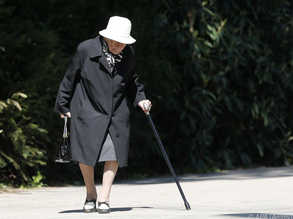 Das Pensionsalter stieg in den letzten zehn Jahren