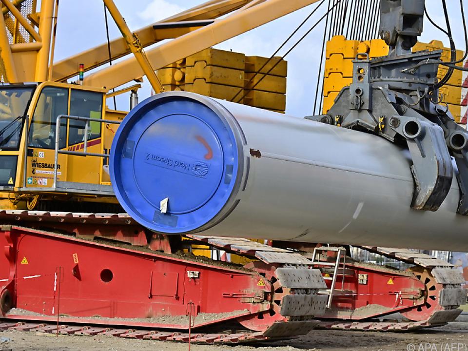 Das Projekt Nord Stream 2 ist umstritten