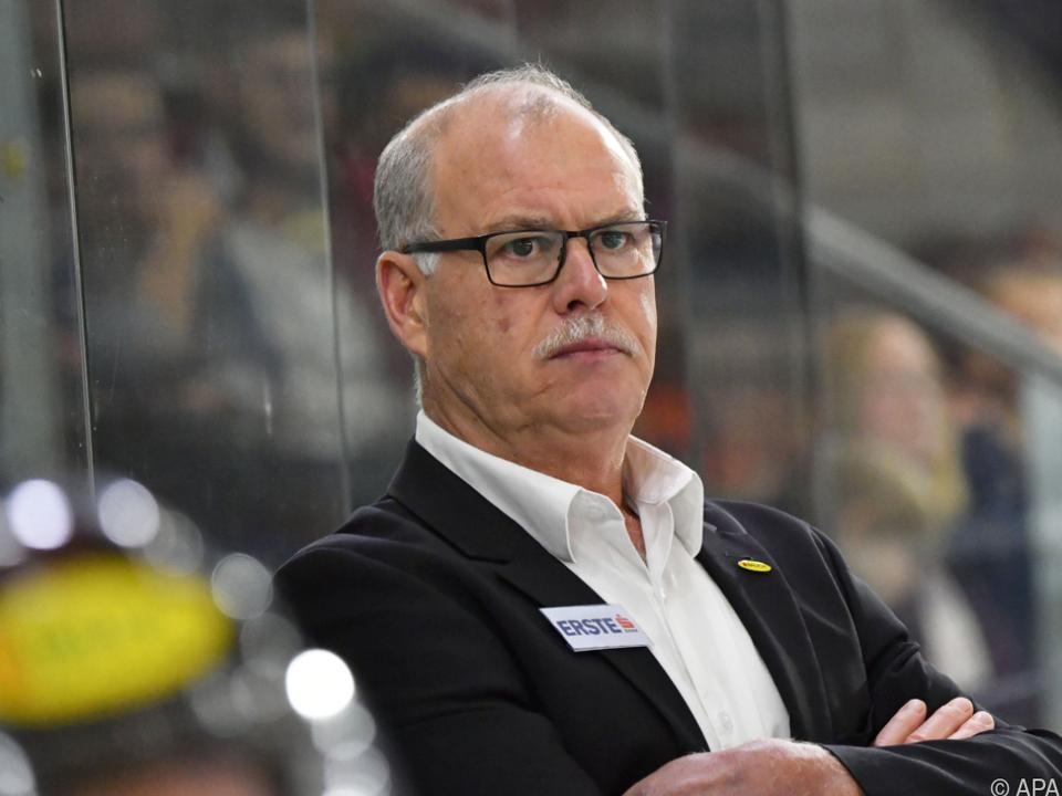 Dave MacQueen war seit 2012 Dornbirn-Trainer