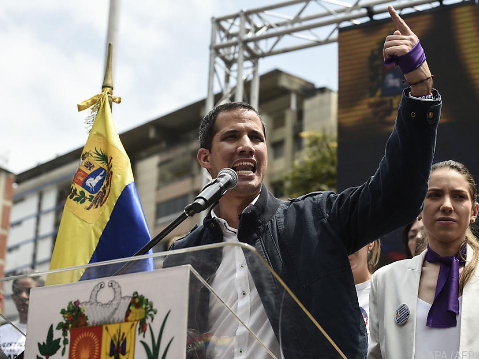 Demos und die Aufrufe dazu werden in Venezuela offenbar zum Alltag