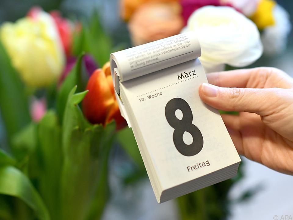 Der 8. März ist Weltfrauentag