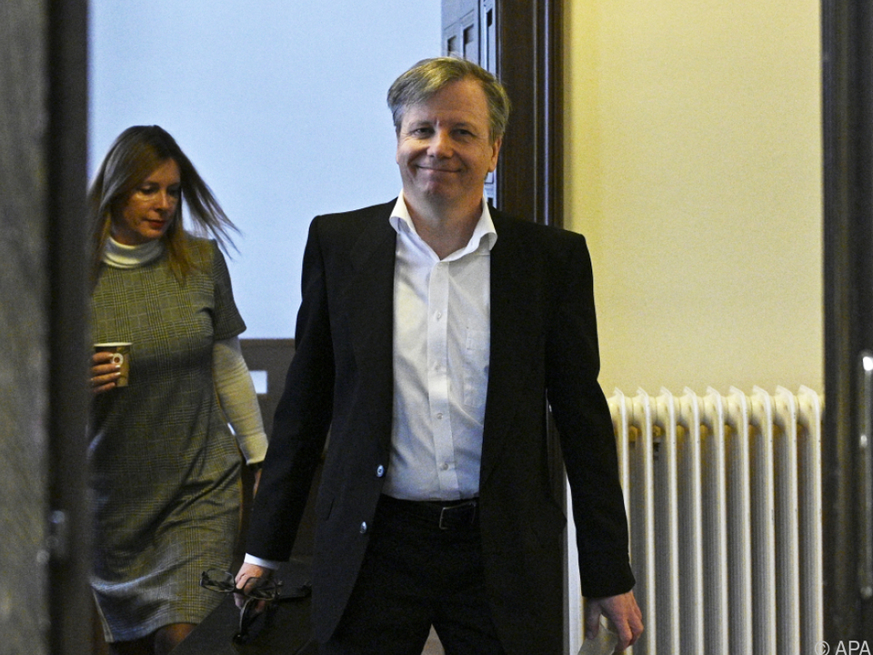 Der als Zeuge geladene ehemalige FMA-Vorstand Heinrich Traumüller