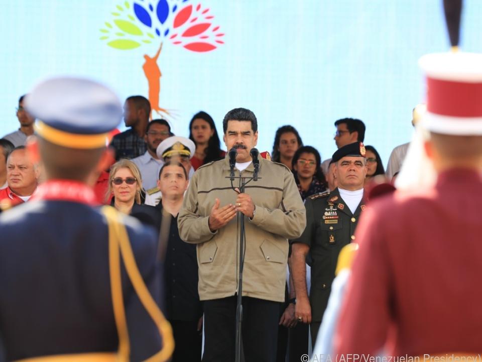 Der Druck auf Venezuelas Präsident Maduro nimmt zu