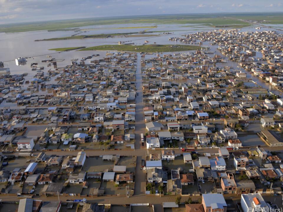 Der Iran ist von einer Flutkatastrophe betroffen