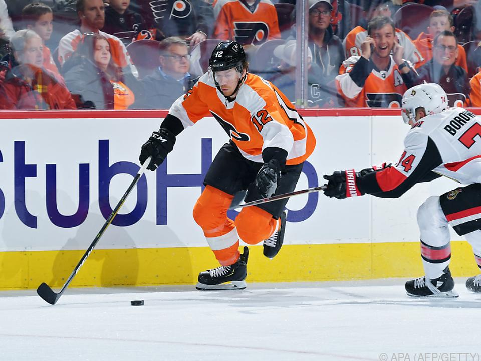 Der Kärntner traf in seinem 400. NHL-Spiel