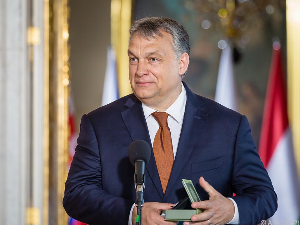 Der ungarische Premierminister bringt Bedingungen vor