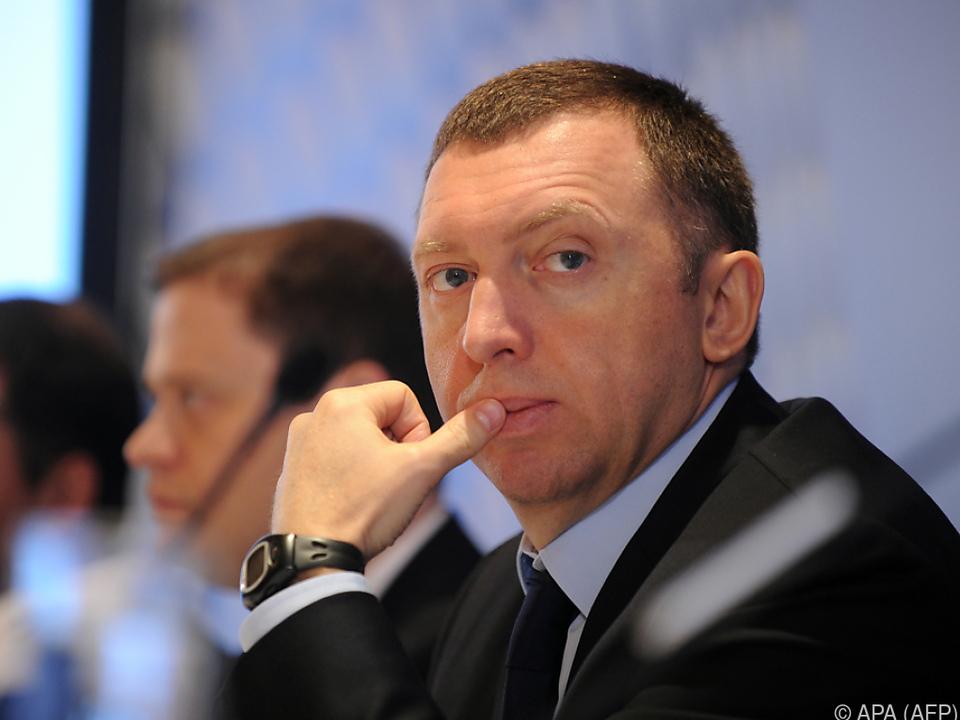 Deripraskas Anklage richtet sich gegen den US-Finanzminister