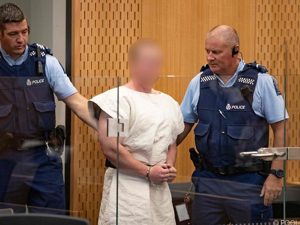 Massaker von Christchurch : Attentäter Tarrant will sich selbst verteidigen