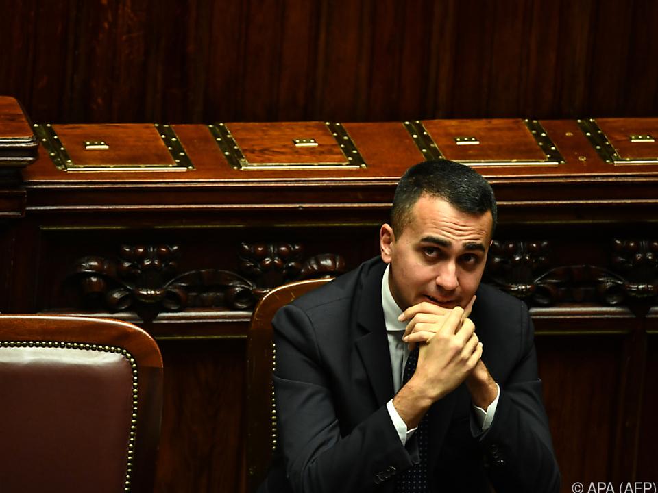 Di Maio will die Wirtschaft ankurbeln