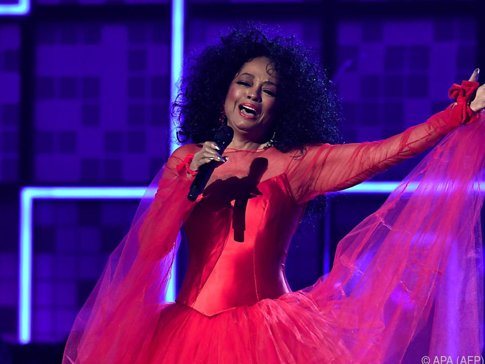 Diana Ross brilliert noch immer auf der Bühne
