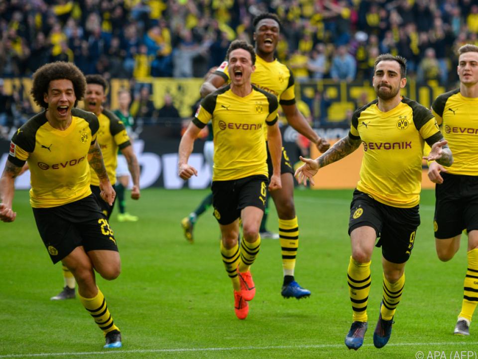 Die Dortmunder können das Spiel in München kaum erwarten