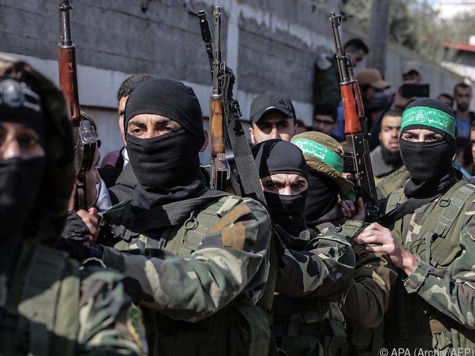 Die Hammas werden seit 2001 als Terrorgruppe gelistet