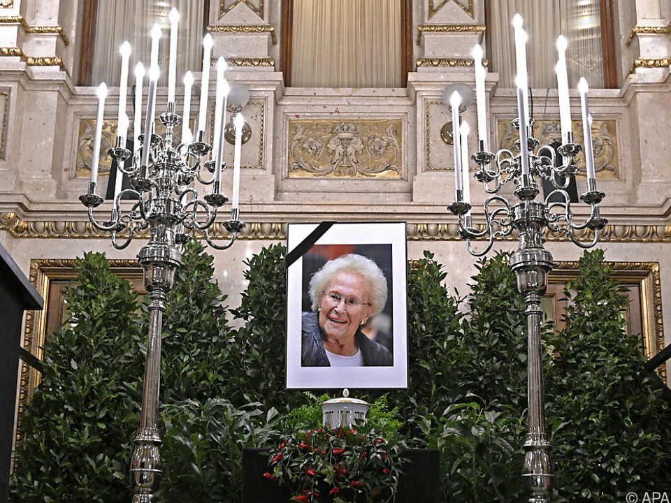 Die Sopranistin Zadek war Ende Februar 101-jährig verstorben