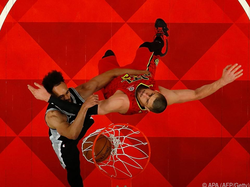 Die Spurs besiegten die Hawks mit 111:104