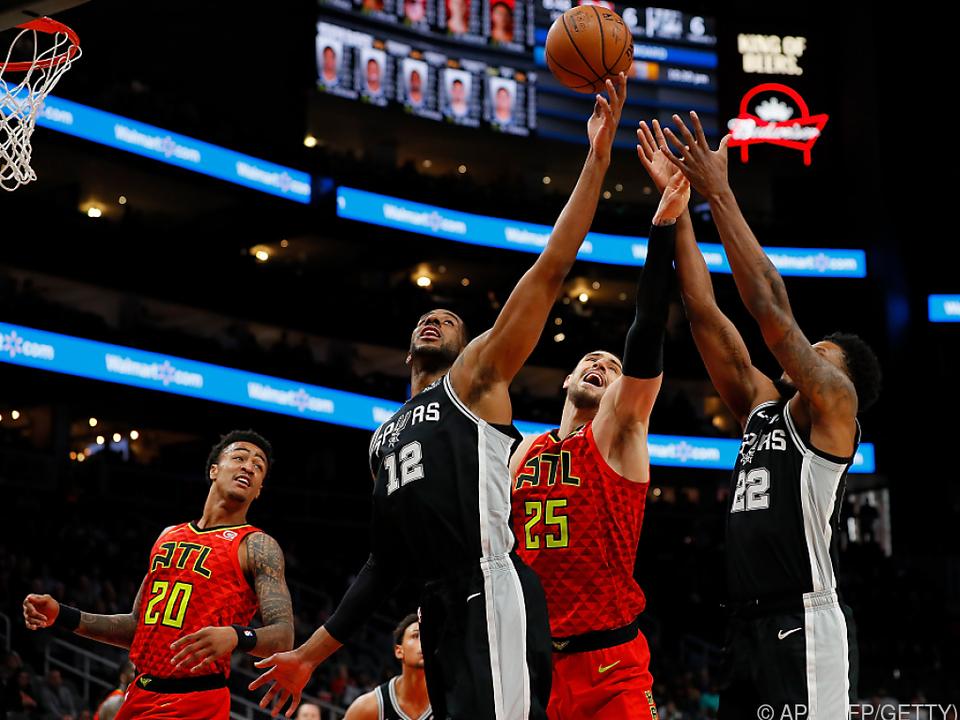 Die Spurs verbuchten den nächsten Sieg