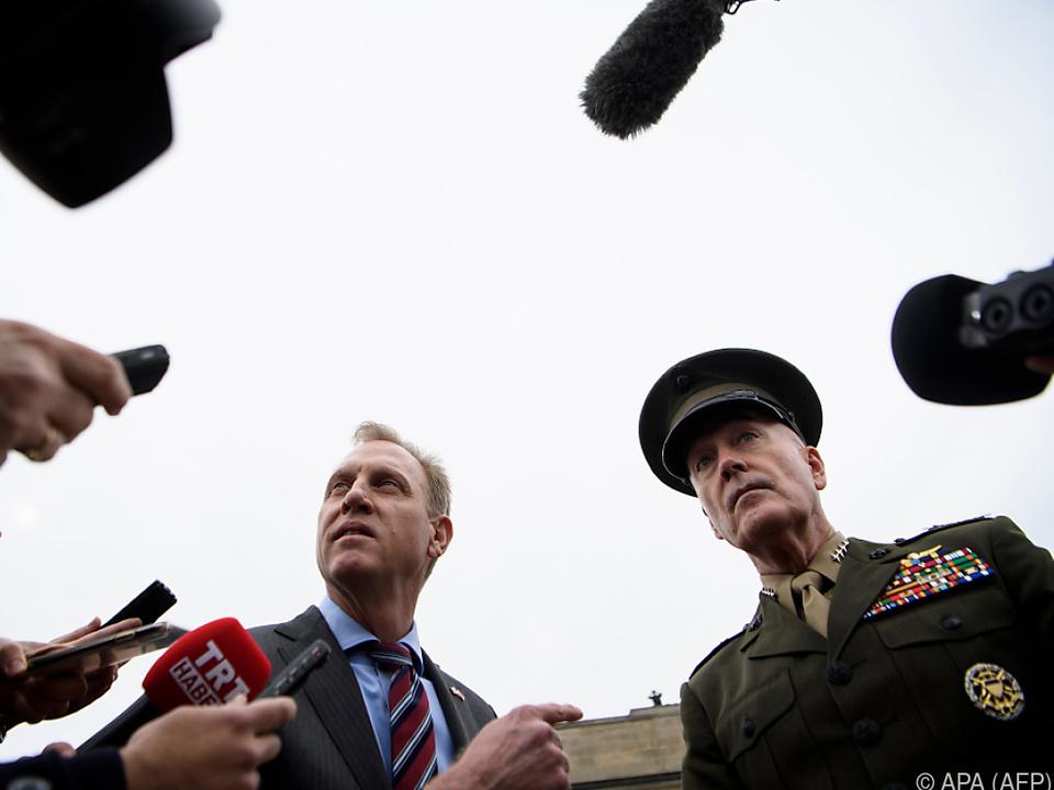 Die Stabsschef der beiden Großmächte sind derzeit in Wien