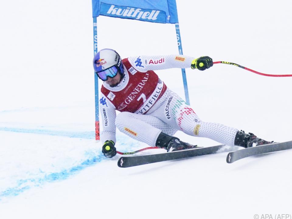 Dominik Paris im Super-G-Weltcup neue Nummer eins
