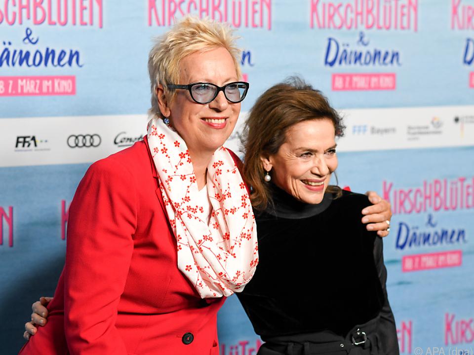Doris Dörrie mit Hannelore Elsner