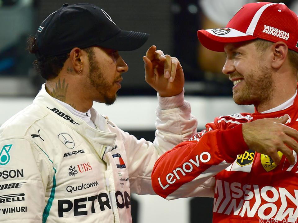Duell zwischen Hamilton und Vettel wird erwartet