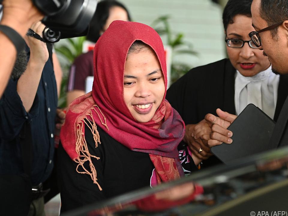 Ein Richter ordnete die Freilassung von Siti Aisyah an