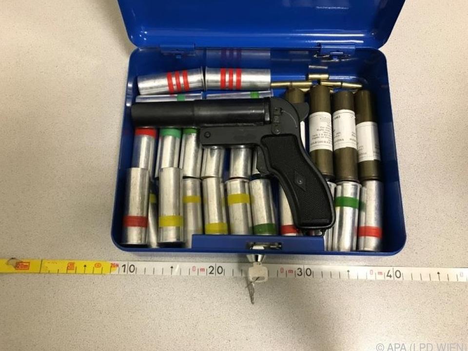 Ein vorläufiges Waffenverbot wurde ausgesprochen