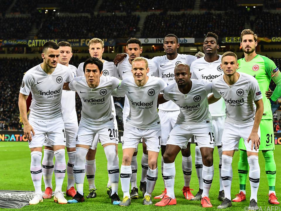 Eintracht Frankfurt schaffte den Einzug ins Viertelfinale