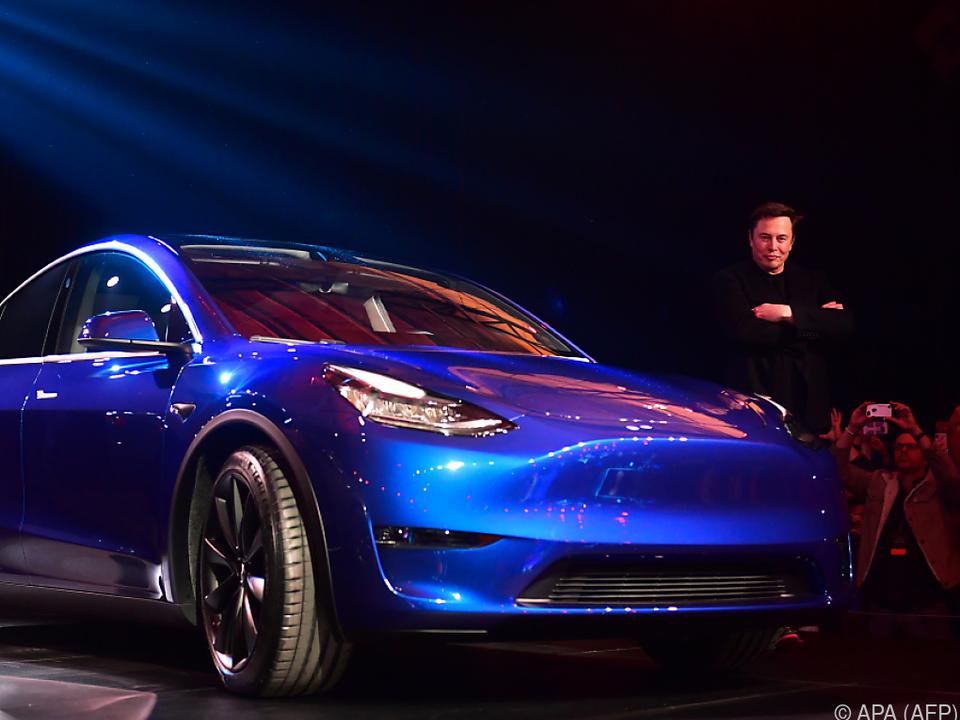 Elon Musk ist stolz auf das Model Y