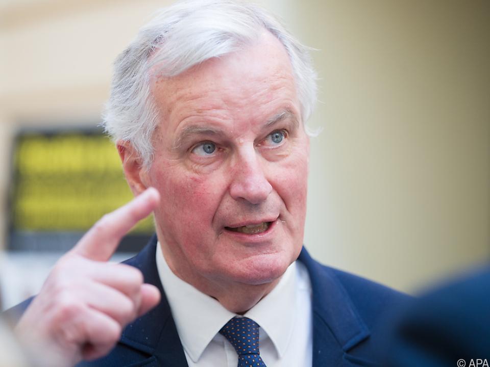 EU-Chefverhandler Michel Barnier