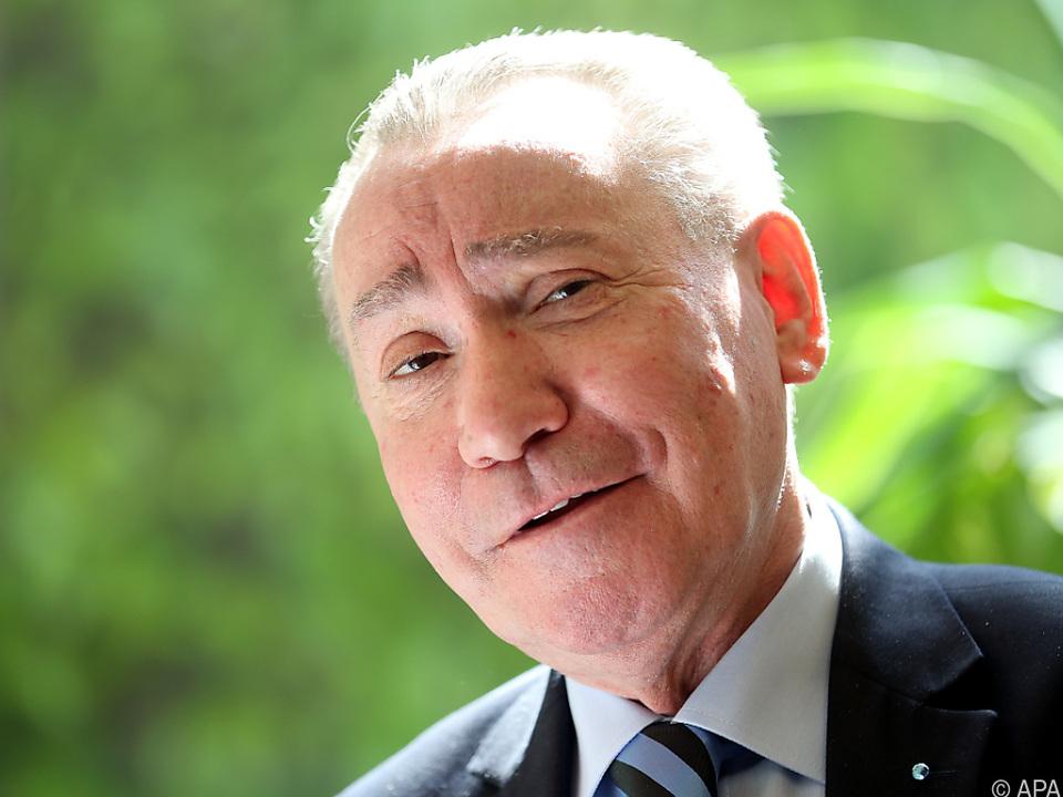 Ex-OSV-Präsident Paul Schauer