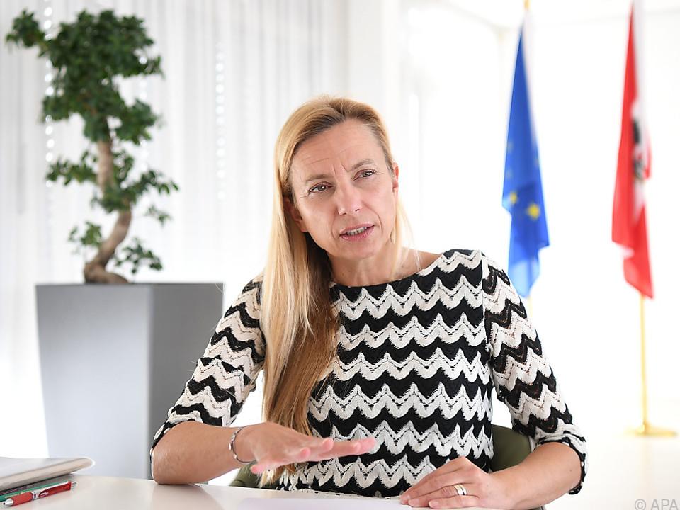 Familienministerin Bogner-Strauß (ÖVP) begründete die Entscheidung