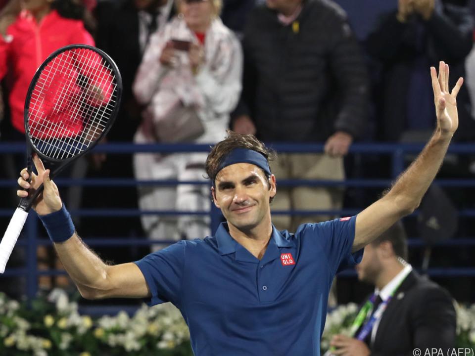 Federer braucht noch zehn Siege, um Jimmy Connors zu überholen