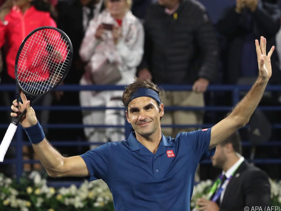Federer ließ seinem Gegner keine Chance
