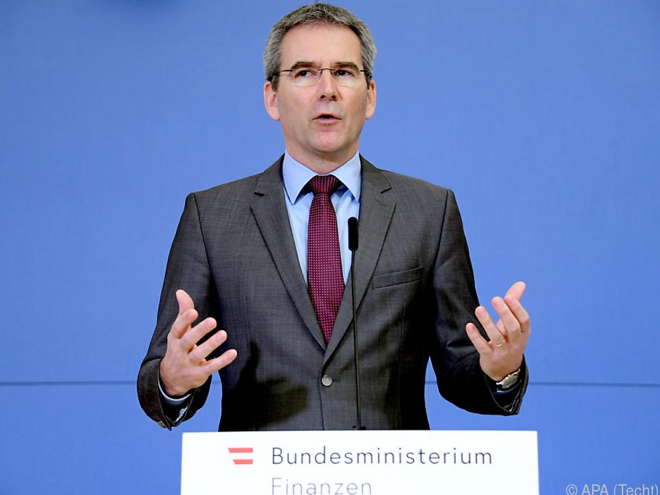 Finanzminister Hartwig Löger