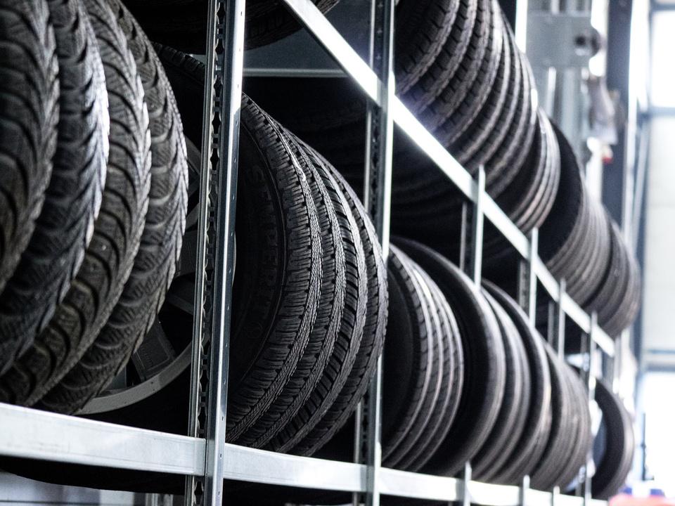 Autoreifen Lagerung Reifen