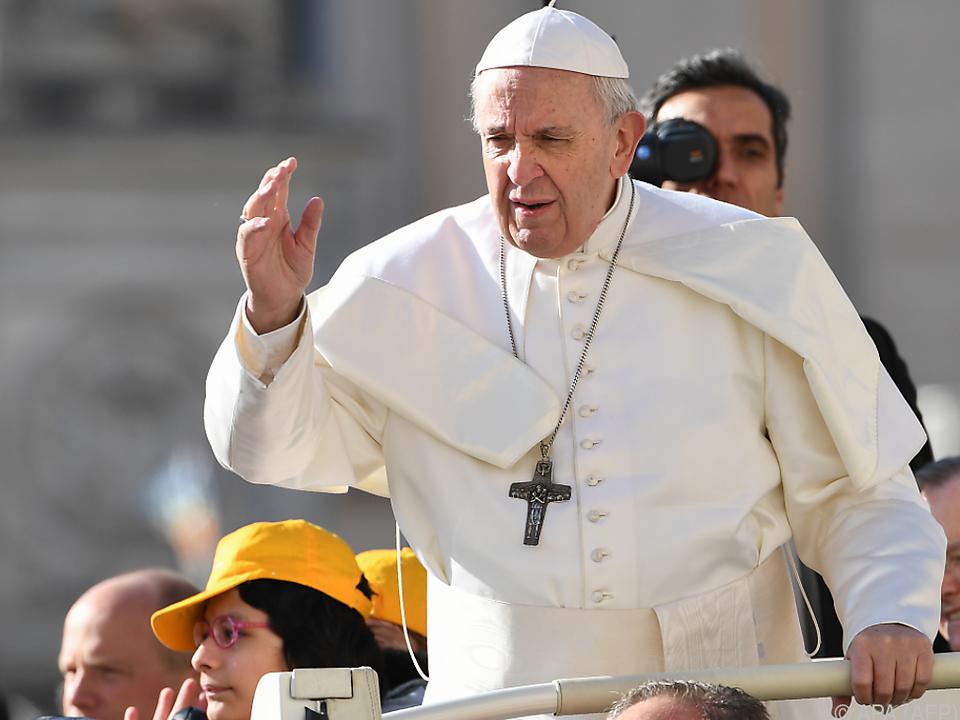 Für den Papst ist die Fastenzeit eine Zeit der \