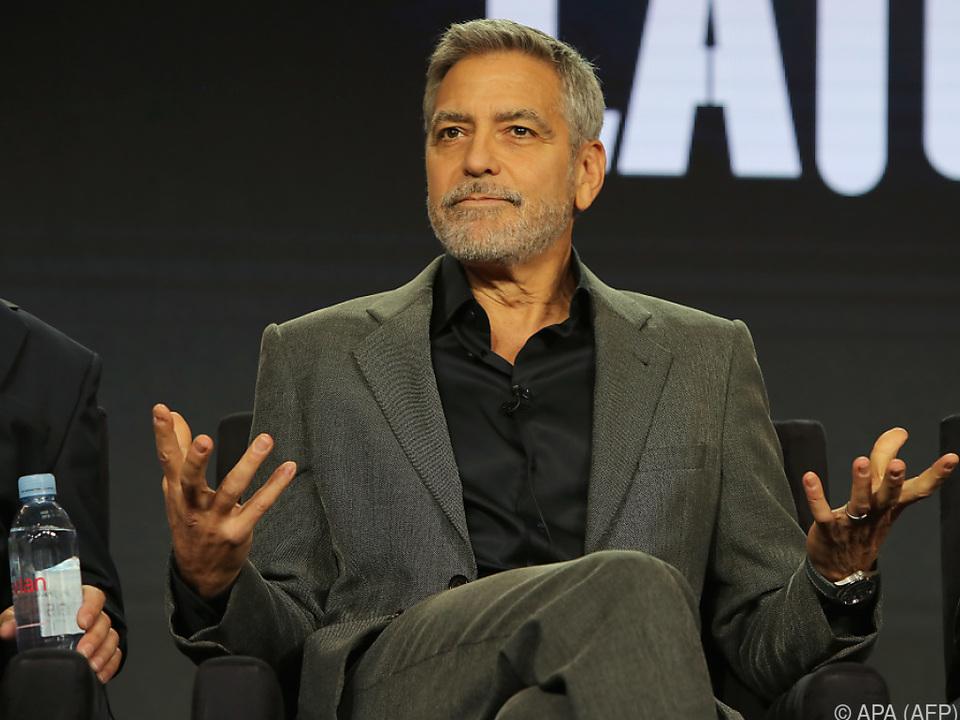 George Clooney rief zum Hotel-Boykott auf