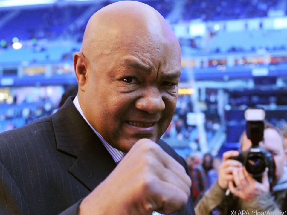 George Foreman war auch der Boxtrainer seiner Tochter Freeda