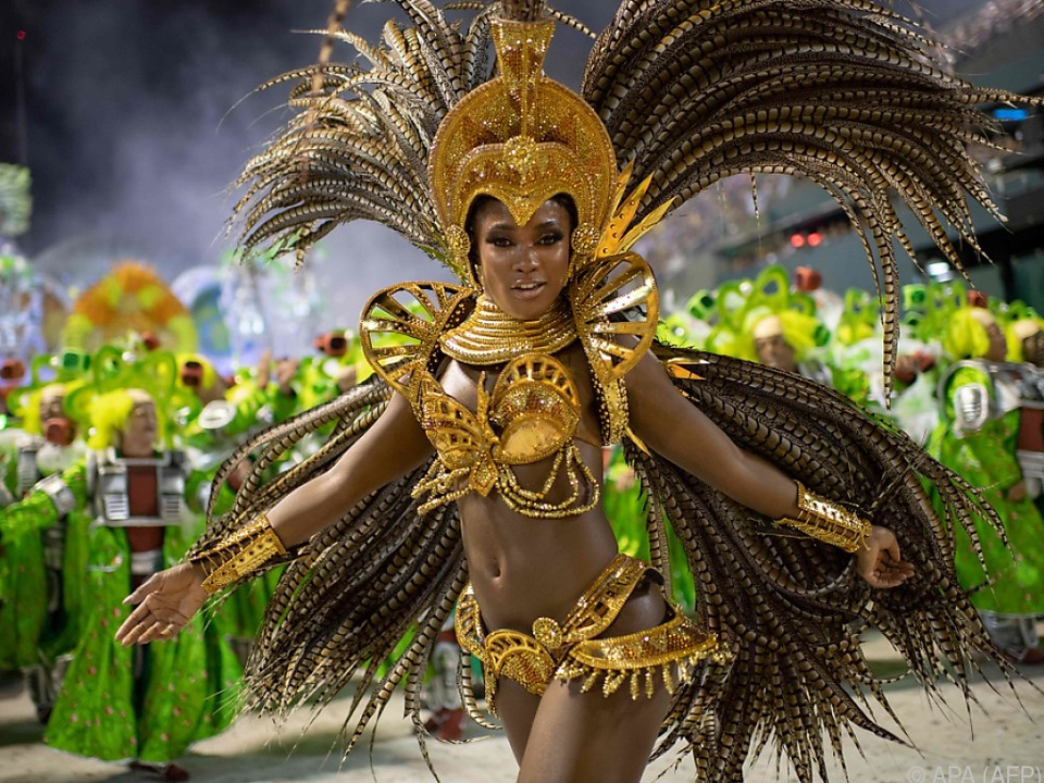 Gewohnt farbenfrohe Bilder aus Rio